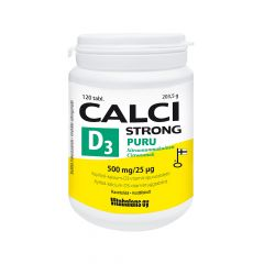 CALCI STRONG + D3 PURU tabl X120 kpl